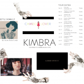 Kimbra UK Splash Page