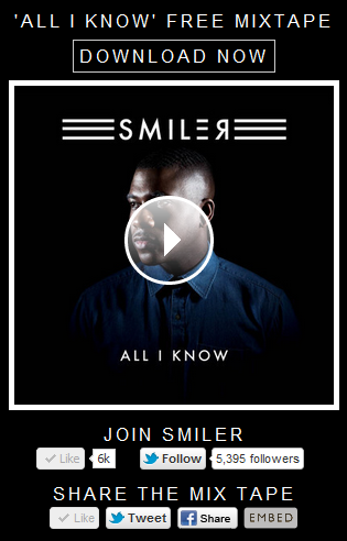 SMILER - All I Know Mix Tape Widget