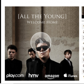 All the Young Album Preview Widget for NME.com