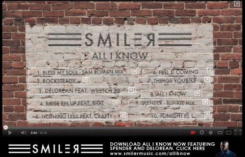 Smiler 'All I Know' Mix Tape Sampler - YouTube