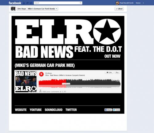Elro - Facebook Tab