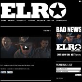 Elro Tumblr Theme