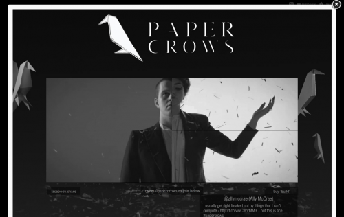 Paper Crows - Build Videos - Playback