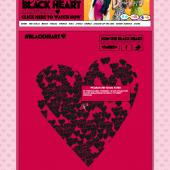 Stooshe Black Heart Twitter Campaign