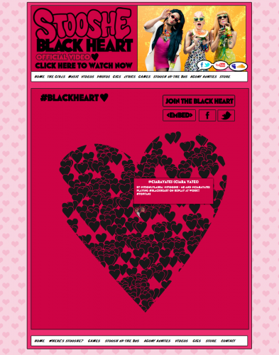 Stooshe-Black-Heart-Twitter-Crowd
