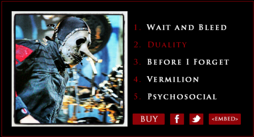 Slipknot - Antennas to Hell Photo Book Widget