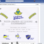 Lilygreen & Maguire Rock Paper Scissors Facebook App