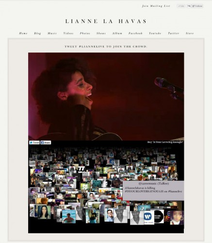 Lianne La Havas - Live Stream from the Village Underground 01