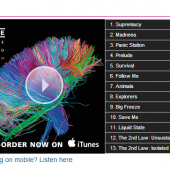 Muse The 2nd Law Album Stream Widget