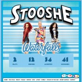 Stooshe Waterfalls Countdown Banner & Twitter Crowd