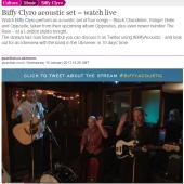 Biffy Clyro #BiffyAcoustic Live Stream