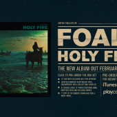 Foals Holy Fire Campaign Page