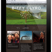 Biffy Clyro website relaunch