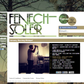 Fenech-Soler January Morning Mixtape Widget
