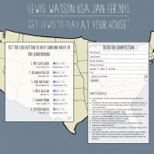 Lewis Watson USA Like Button Competition