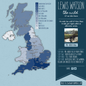 Lewis Watson Pre-Order Powered Map Campaign