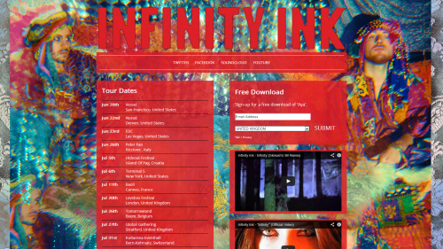 Infinity Ink Website