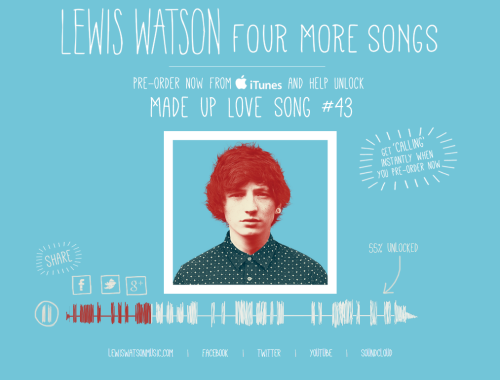 Lewis Watson - Four More Songs - 55