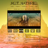 Hot Natured Single Page Website