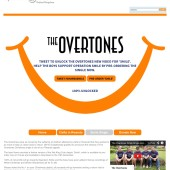 The Overtones Tweet to Unlock Campaign for Operation Smile