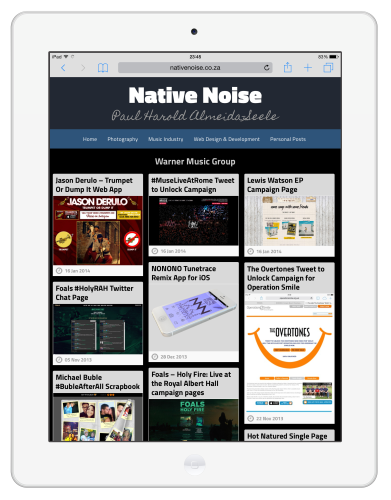 10 - Native Noise Overhaul - Tablet View Category Page