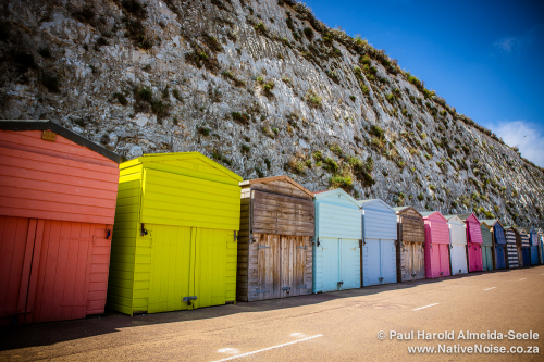 Beach Huts in Broadstairs, UK