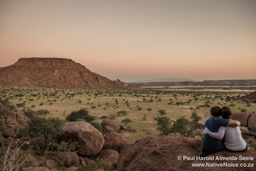 Welcoming The Evening While We Overlook Damaraland, Namibia